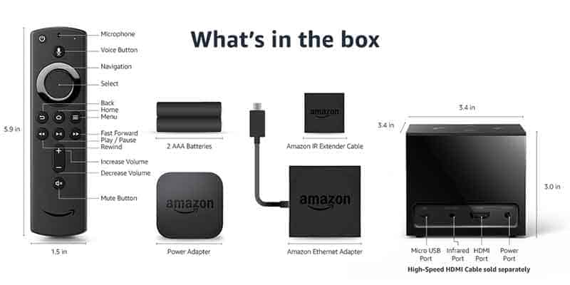 Fire TV Cube Hardware