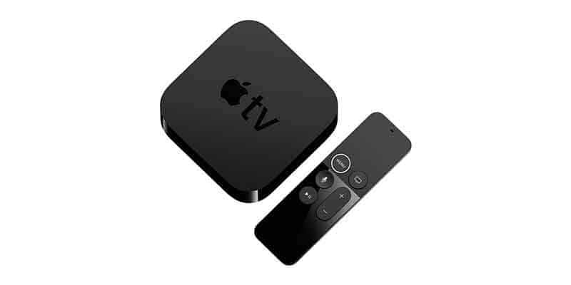 Apple TV 4K Device and Remote