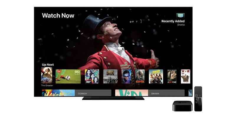 Apple TV Content and Apps