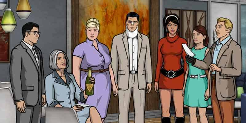 Archer Streaming on TV