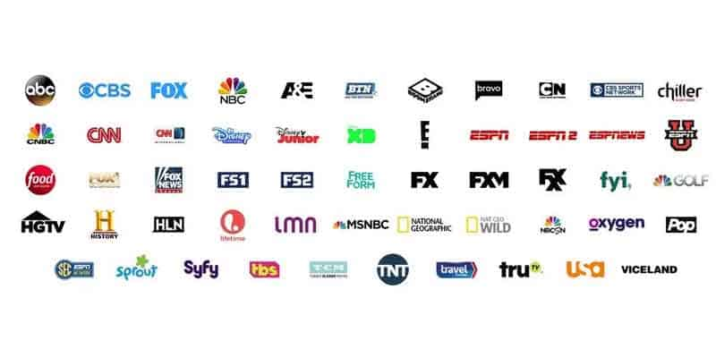 Streaming TV Channels
