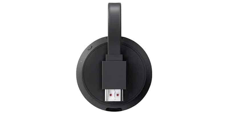 Chromecast Ultra Back