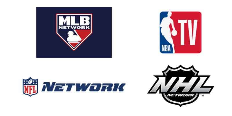 Watch professional sports networks