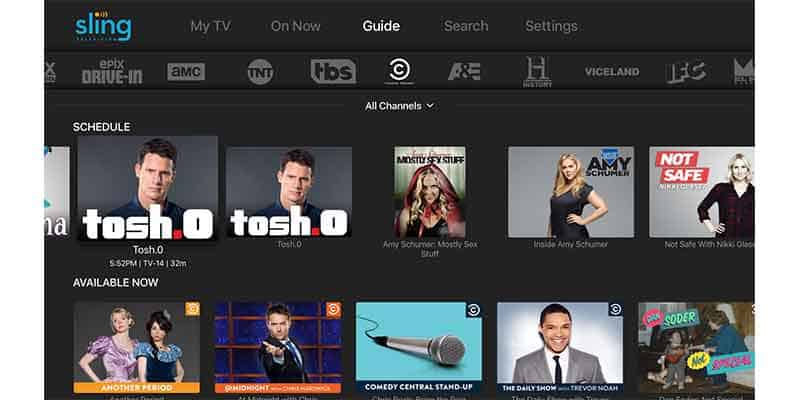 Sling TV Streaming Service